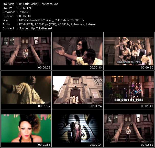 Little Jackie HQ Videoclip «The Stoop»