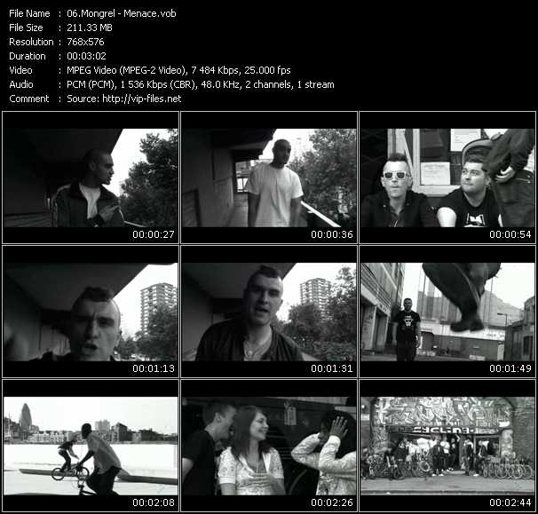 Mongrel HQ Videoclip «Menace»