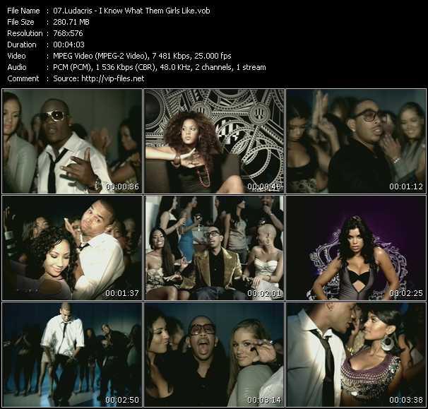 Ludacris HQ Videoclip «I Know What Them Girls Like»