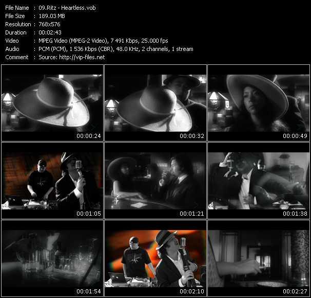 Ritz HQ Videoclip «Heartless»
