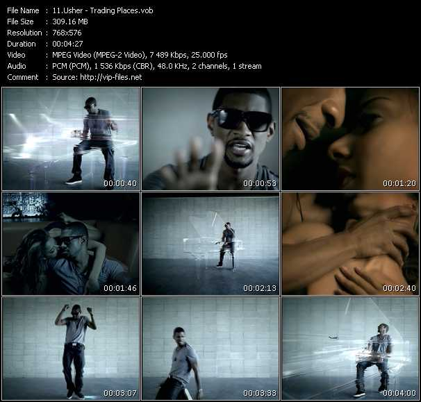Usher HQ Videoclip «Trading Places»