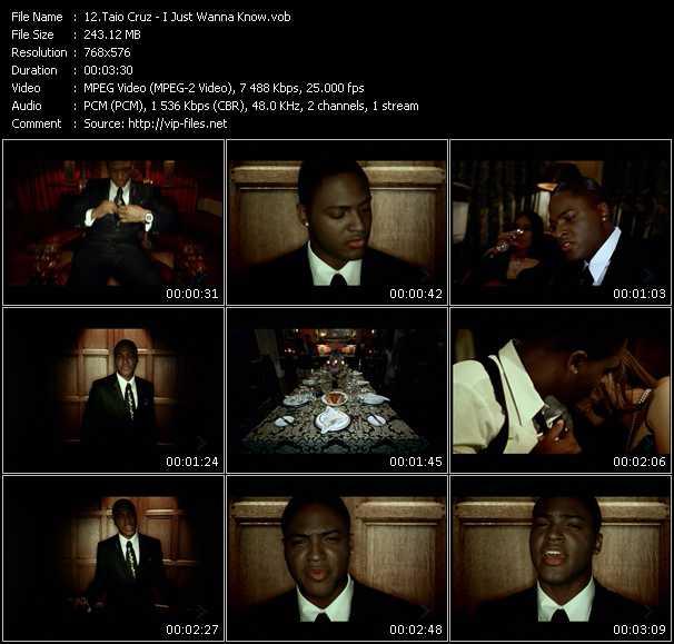 Taio Cruz HQ Videoclip «I Just Wanna Know»