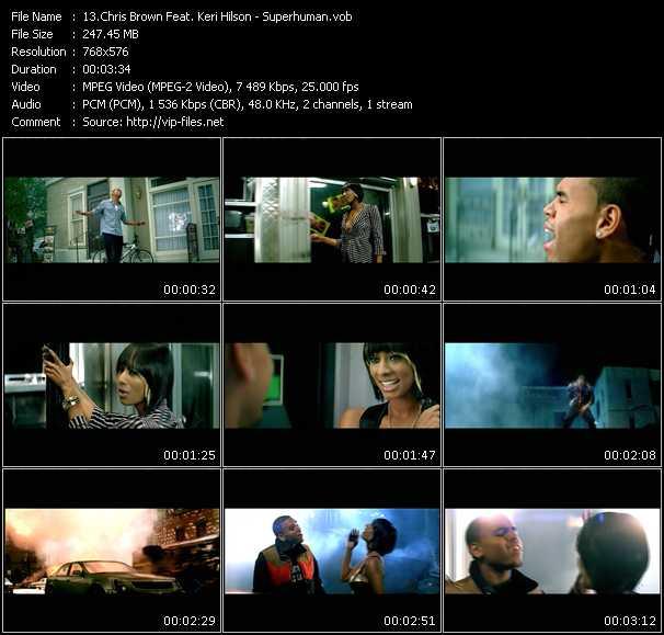 Chris Brown Feat. Keri Hilson HQ Videoclip «Superhuman»