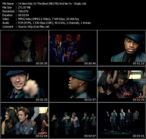New Kids On The Block Feat. Ne-Yo HQ Videoclip «Single»