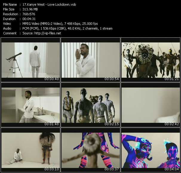 Kanye West HQ Videoclip «Love Lockdown»
