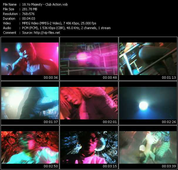 Yo Majesty HQ Videoclip «Club Action»