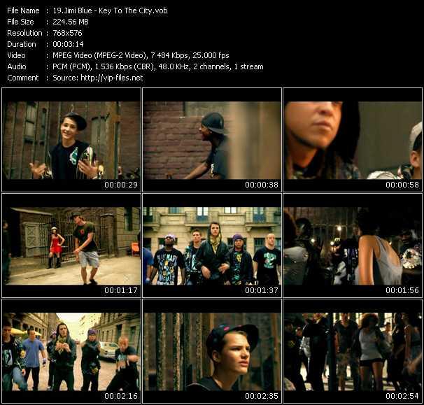 Jimi Blue HQ Videoclip «Key To The City»