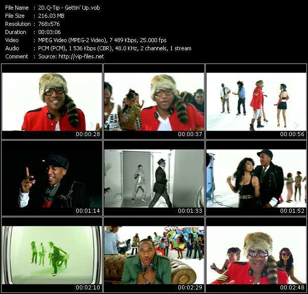 Q-Tip HQ Videoclip «Gettin' Up»