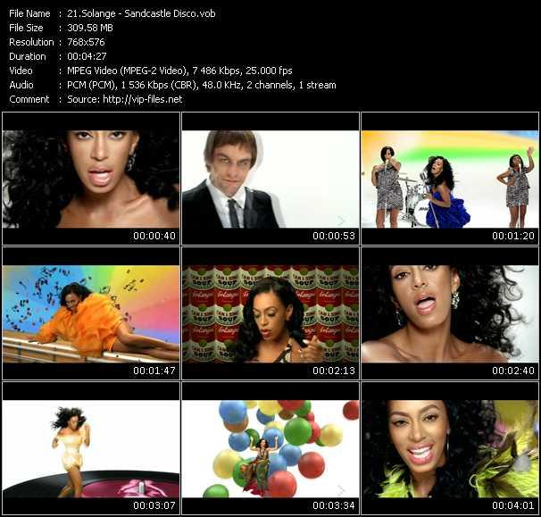 Solange HQ Videoclip «Sandcastle Disco»