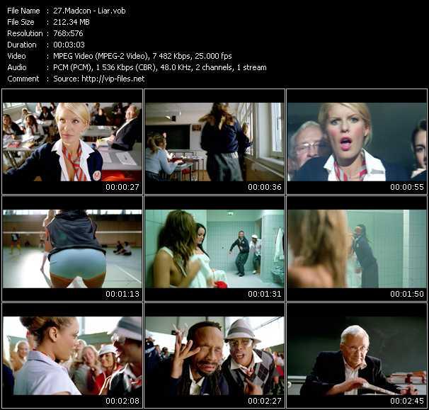 Madcon HQ Videoclip «Liar»