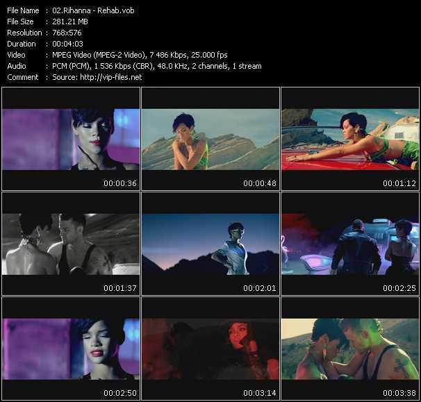 Rihanna HQ Videoclip «Rehab»