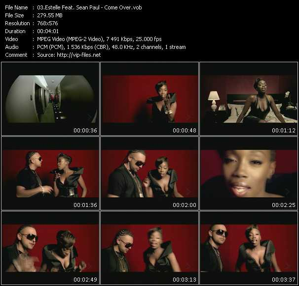 Estelle Feat. Sean Paul HQ Videoclip «Come Over»