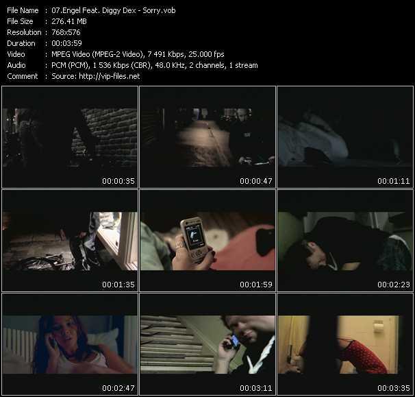 Engel Feat. Diggy Dex HQ Videoclip «Sorry»