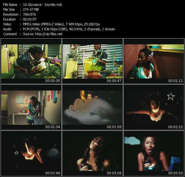 Giovanca HQ Videoclip «Joyride»