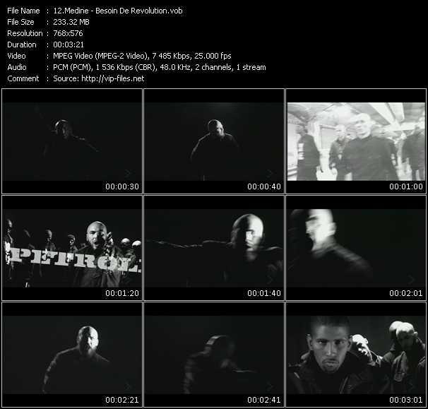 Medine HQ Videoclip «Besoin De Revolution»