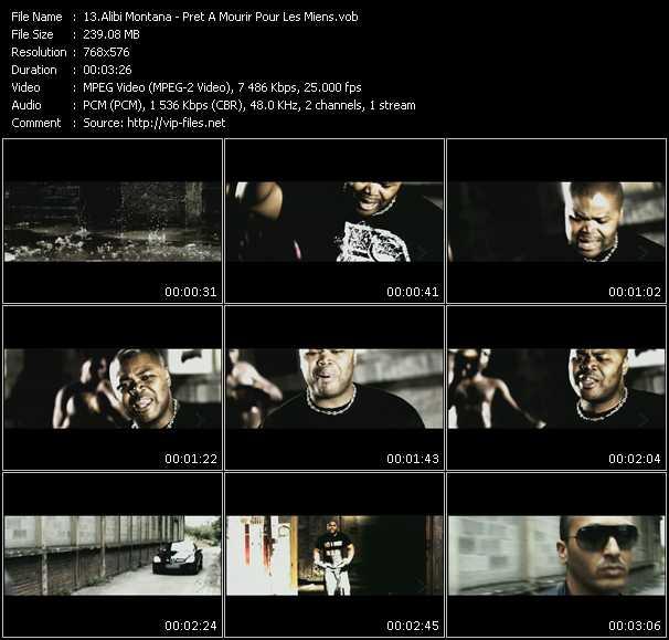 Alibi Montana HQ Videoclip «Pret A Mourir Pour Les Miens»