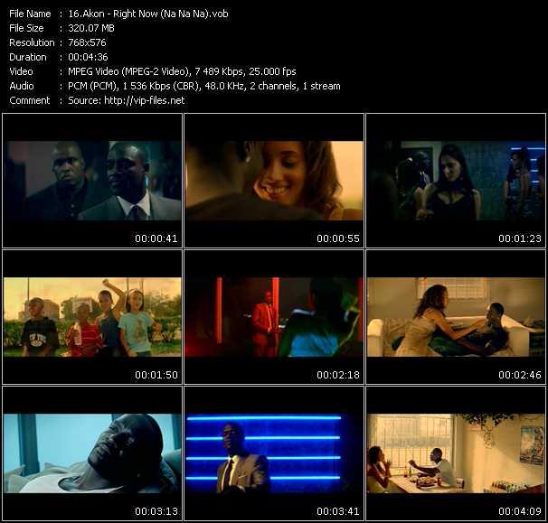 Akon HQ Videoclip «Right Now (Na Na Na)»