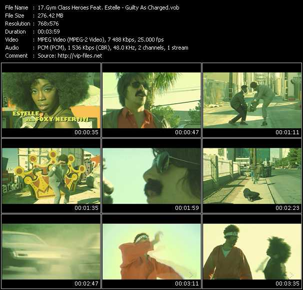 Gym Class Heroes Feat. Estelle HQ Videoclip «Guilty As Charged»