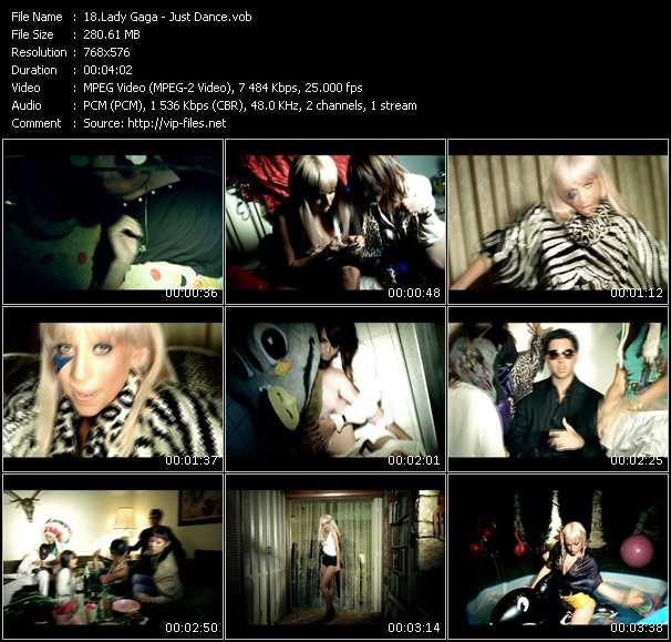 Lady Gaga HQ Videoclip «Just Dance»