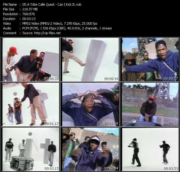 A Tribe Called Quest video - Can I Kick It?