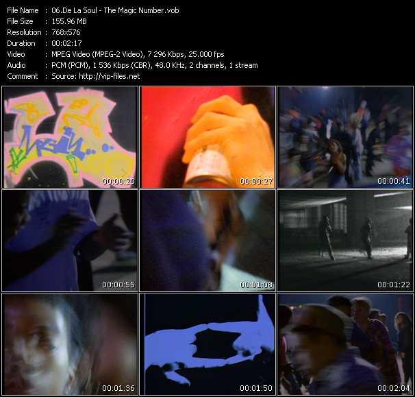 De La Soul HQ Videoclip «The Magic Number»