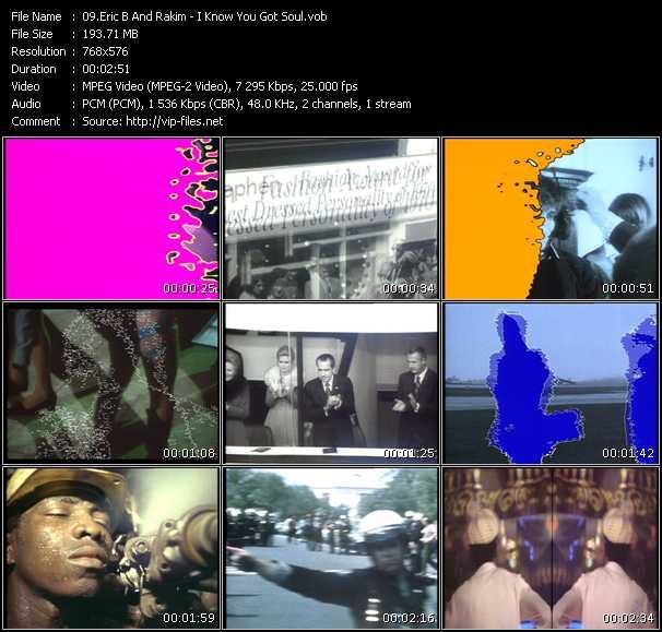 Eric B. And Rakim HQ Videoclip «I Know You Got Soul»