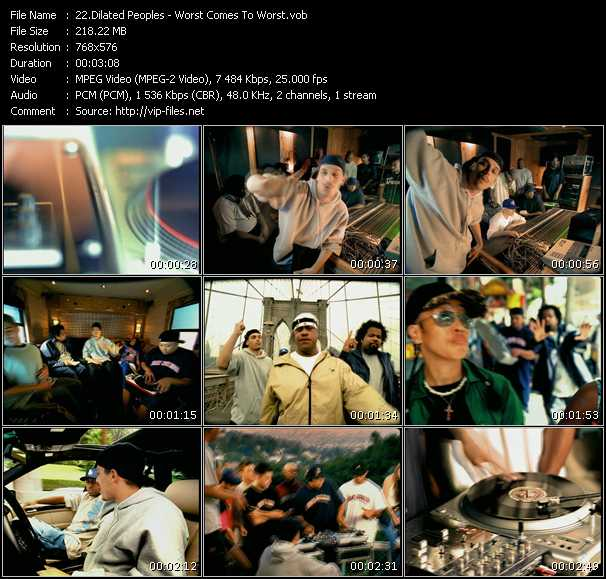 Dilated Peoples HQ Videoclip «Worst Comes To Worst»