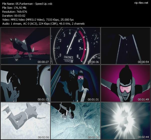 Funkerman HQ Videoclip «Speed Up»