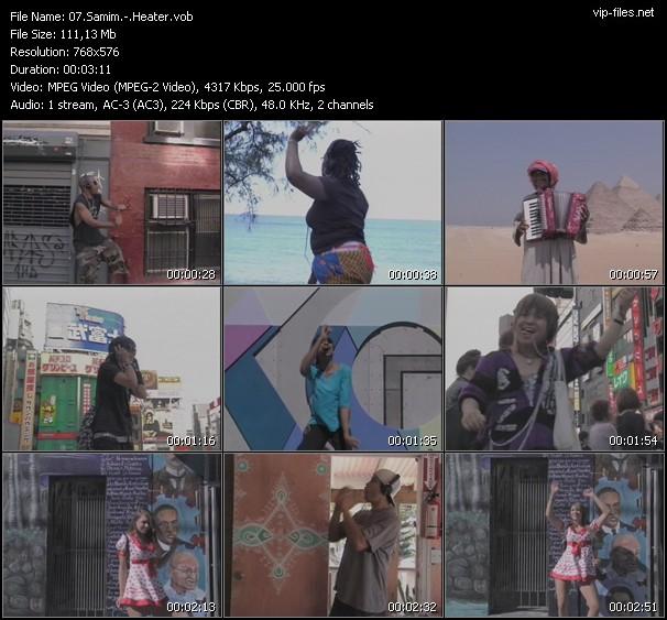 Samim HQ Videoclip «Heater»