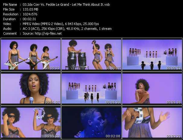 Ida Corr Vs. Fedde Le Grand HQ Videoclip «Let Me Think About It»