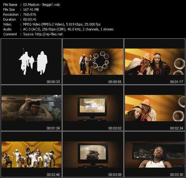 Madcon HQ Videoclip «Beggin'»