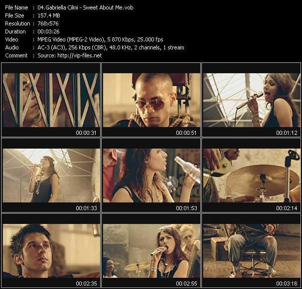 Gabriella Cilmi HQ Videoclip «Sweet About Me»