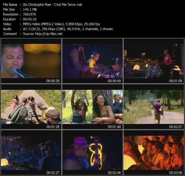 Christophe Mae HQ Videoclip «C'est Ma Terre»