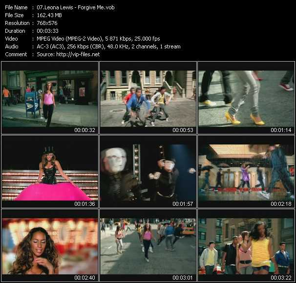 Leona Lewis HQ Videoclip «Forgive Me»