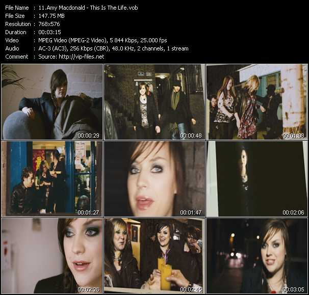 Amy Macdonald HQ Videoclip «This Is The Life»