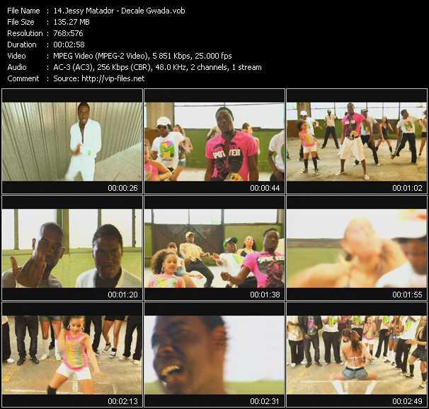 Jessy Matador HQ Videoclip «Decale Gwada»