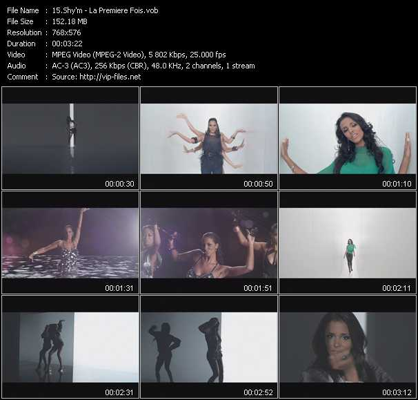 Shy'm HQ Videoclip «La Premiere Fois»