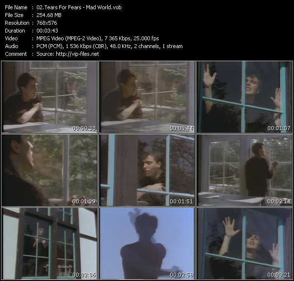 Tears For Fears HQ Videoclip «Mad World»