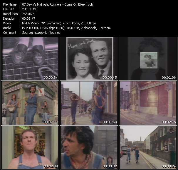 Dexy's Midnight Runners HQ Videoclip «Come On Eileen»