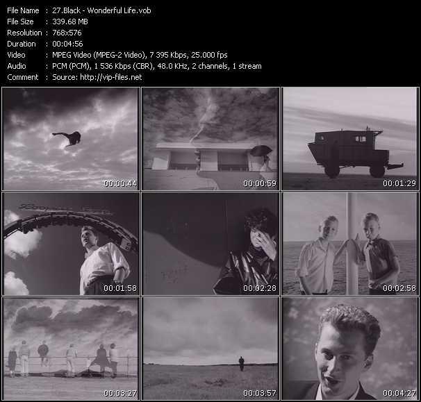 Black HQ Videoclip «Wonderful Life»