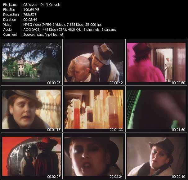 Yazoo (Yaz) HQ Videoclip «Don't Go»