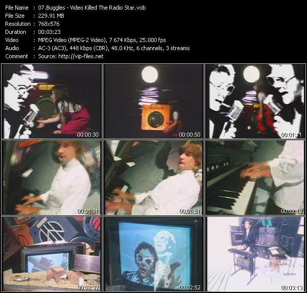Buggles HQ Videoclip «Video Killed The Radio Star»