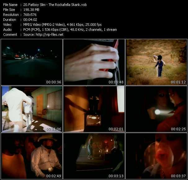Fatboy Slim HQ Videoclip «The Rockafella Skank»