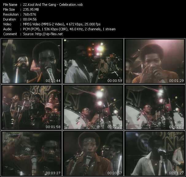 Kool And The Gang HQ Videoclip «Celebration»