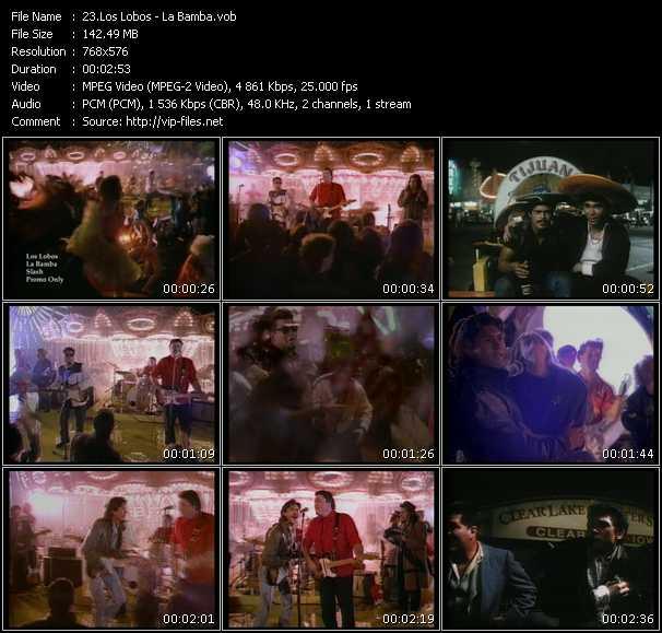 Los Lobos HQ Videoclip «La Bamba»
