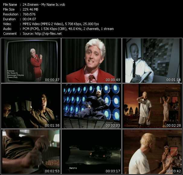 Eminem HQ Videoclip «My Name Is»