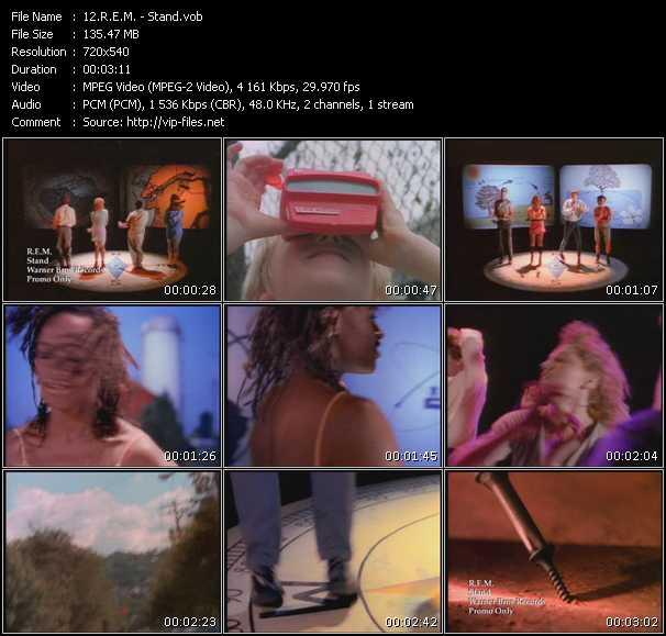 R.E.M. video - Stand