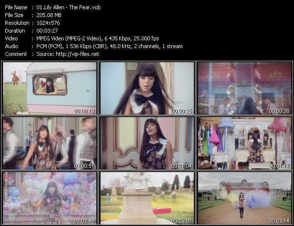 Lily Allen HQ Videoclip «The Fear»