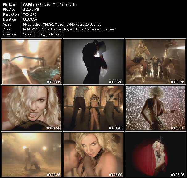Britney Spears HQ Videoclip «The Circus»