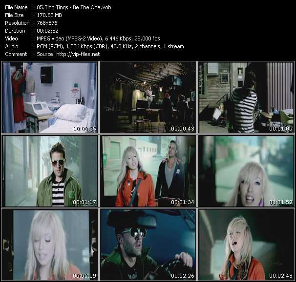 Ting Tings HQ Videoclip «Be The One»